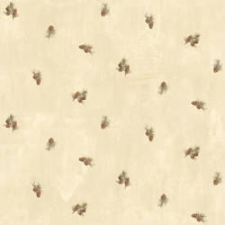 Welsh Wheat Pinecone Toss Wallpaper BBC49463