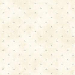 Ella Blue Paw Print Toss Wallpaper BBC66412