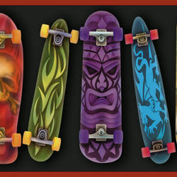 Gerry Red Skateboards Portrait Border BBC92052B