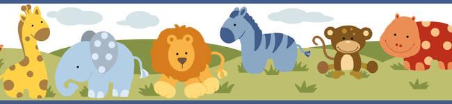 Simba White Jungle Safari Cartoons Border BBC94181B