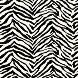 Mia Black Faux Zebra Stripes Wallpaper BBC95503