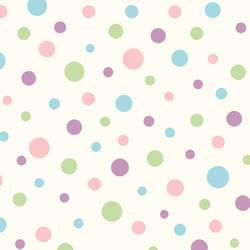 Dotty Pink Polka Dot Toss Wallpaper BBC95632
