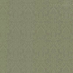 Abelle Green Damask Swirl 492-2003