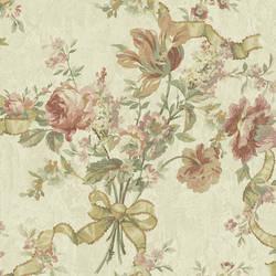 Mauve Ribbon Floral 292-80804