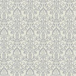 Abelle Grey Damask Swirl 492-2004