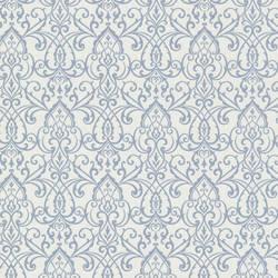 Abelle Blue Damask Swirl 492-2005