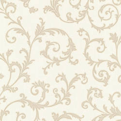 Harper Cream Elegant Scroll 492-2108