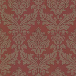 Hughes Red Royal Damask 492-2113