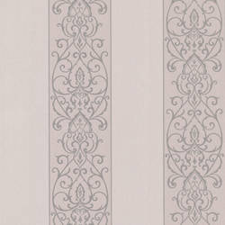 Arbella Mauve Damask Swirl Stripe 492-2306