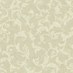 White Tonal Scroll 292-80508