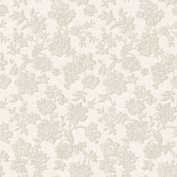 Stria Storm Floral Toss Wallpaper BRL980314