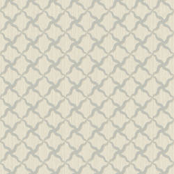 Alexi Blue Ornate Criss Cross Wallpaper BRL98044