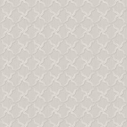 Alexi Grey Ornate Criss Cross Wallpaper BRL98046