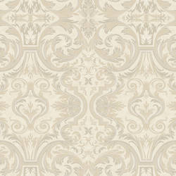 Guinevere Winter Baroque Marquetry Wallpaper BRL98051