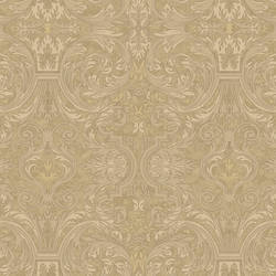Guinevere Sand Baroque Marquetry Wallpaper BRL980514