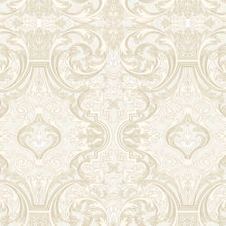 Guinevere Storm Baroque Marquetry Wallpaper BRL98057