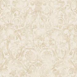 Bali Brown Damask Wallpaper BRL980718