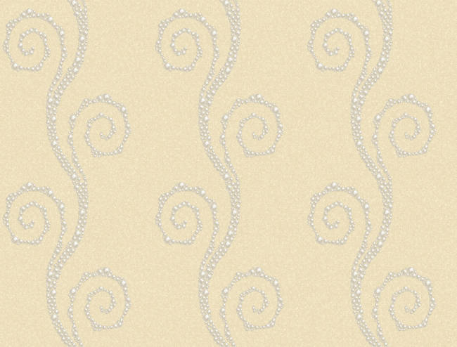 Vortex Yellow Modern Trail Wallpaper BRL98104