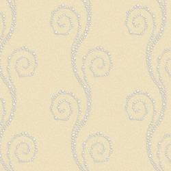 Vortex Yellow Modern Trail Wallpaper BRL98104