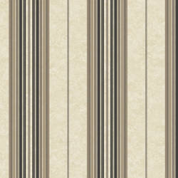 Poppy Black Baroque Stripe Wallpaper BRL981311