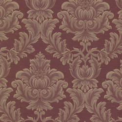 Oldham Burgundy Damask 2601-20800