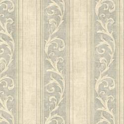 Farnworth Sage Scroll Stripe 2601-20842