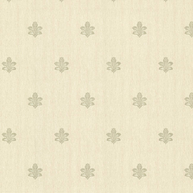 Bolton Light Green Fleur De Lis 2601-20850