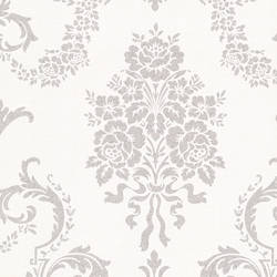 Chambers Platinum Floral Damask 495-69002