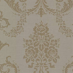Chambers Brass Floral Damask 495-69003