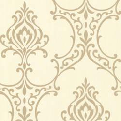 Scott Gold Nouveau Damask 495-69019