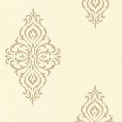Powell Gold Damask Medallion 495-69024