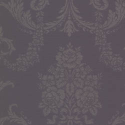 Chambers Eggplant Floral Damask 495-69040