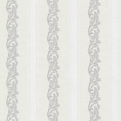 Rennie Stripe Light Grey Scrolling Stripe 495-69046