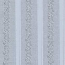 Rennie Stripe Grey Scrolling Stripe 495-69047