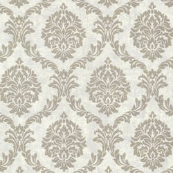 Tennyson Pewter Shimmer Damask 495-69062