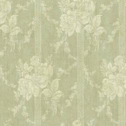 Moss Floral Bouquet Stripe 292-80104