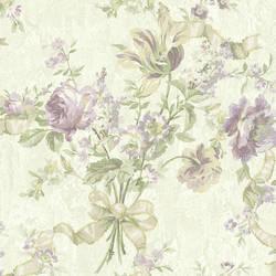 Lavender Ribbon Floral 292-80809