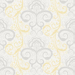 Vanessa Peach Henna Brocade Wallpaper CHR11643