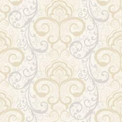 Vanessa Mauve Henna Brocade Wallpaper CHR11645