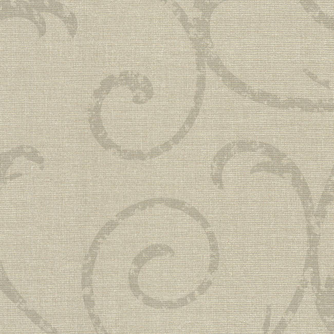 Bates Taupe Textured Scroll 2446-83549