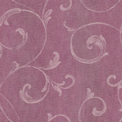 Gibby Purple Leafy Scroll Wallpaper CHR11661