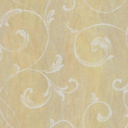 Gibby Peach Leafy Scroll Wallpaper CHR11663