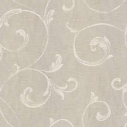 Gibby Charcoal Leafy Scroll Wallpaper CHR11664