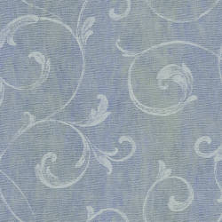 Gibby Blueberry Leafy Scroll Wallpaper CHR11666
