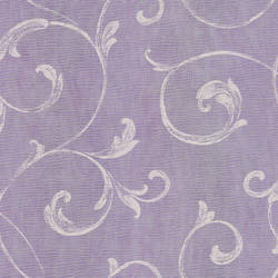 Gibby Purple Leafy Scroll Wallpaper CHR11667