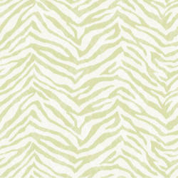 Mia Green Faux Zebra Stripes Wallpaper CHR11671