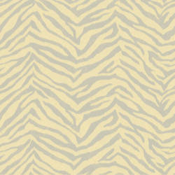 Mia Peach Faux Zebra Stripes Wallpaper CHR11674