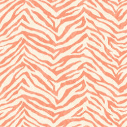 Mia Orange Faux Zebra Stripes Wallpaper CHR11676
