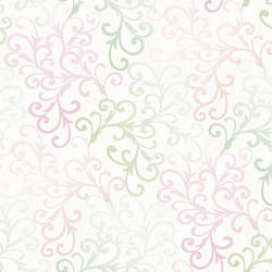 Christel Pink Fading Busy Toss Wallpaper CHR11681