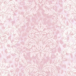 Gabriella Purple Ogge Busy Toss Wallpaper CHR11702